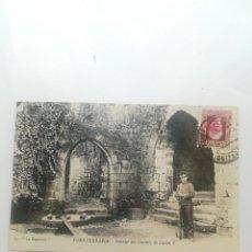 Postales: FUENTERRABIA, INTERIOR DEL CASTILLP DE CARLPS V. 13. LA ESPAÑOLA. GUIPUZCOA.. Lote 245206340