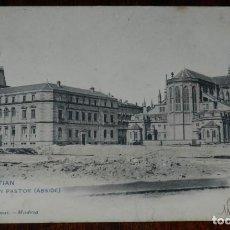 Postales: POSTAL DE SAN SEBASTIAN, Nº 1517, EL BUEN PASTOR, ABSIDE, EDIC. HAUSER Y MENET. GUIPUZCOA. CIRCULADA. Lote 245352300