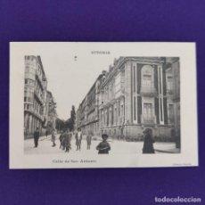 Postales: POSTAL DE VITORIA (ALAVA). CALLE DE SAN ANTONIO. LIBRERIA GENERAL. ORIGINAL.. Lote 245413615