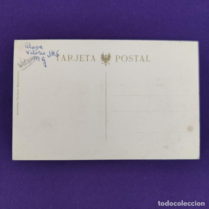 Postales: POSTAL DE VITORIA (ALAVA). HOTEL UNIVERSAL. FOTOTIPIA THOMAS. ORIGINAL. - Foto 2 - 245414340
