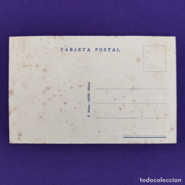 Postales: POSTAL DE MURGUIA (ALAVA). HOTEL MARIA. F MESAS. ARTE BILBAO. ORIGINAL. - Foto 2 - 245414515