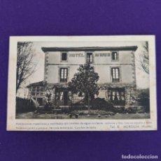 Postales: POSTAL DE MURGUIA (ALAVA). HOTEL MARIA. F MESAS. ARTE BILBAO. ORIGINAL.. Lote 245414515