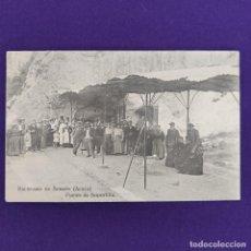 Postales: POSTAL DE SOBRON (ALAVA). BALNEARIO DE SOBRON. FUENTE DE SOPORTILLA. FOT LACOSTE. ORIGINAL.. Lote 245414725