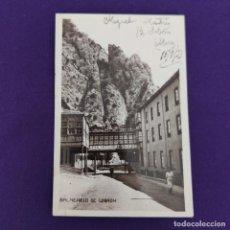 Postales: POSTAL DE SOBRON (ALAVA). BALNEARIO DE SOBRON. GALERIA DE COMUNICACION. ORIGINAL.. Lote 245415415