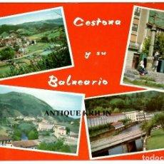 Postales: CESTONA Y SU BALNEARIO Nº 20 VARIAS VISTAS / FOTO GAR. Lote 246120600