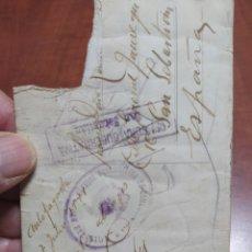 Postales: CENSURA GUBERNATIVA Y CENSURA GUBERNATIVA DE COMUNICACIÓNES SAN SEBASTIÁN 1944.. Lote 246221270