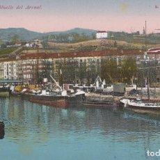 Postales: POSTAL BILBAO MUELLE DEL ARENAL ROISIN NUM. 13. Lote 246281710