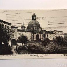 Postales: SANTUARIO DE LOYOLA (GUIPÚZCOA) POSTAL ANIMADA VISTA LATERAL, EDIC., MANIPEL (A.1951) CIRCULADA... Lote 246428375