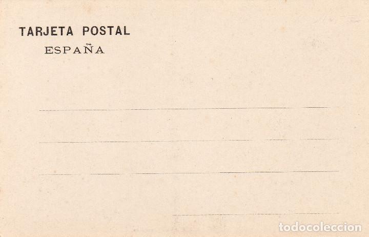 Postales: Postal de Fuenterrabia Ondarribia Guipúzcoa Una lavandera Edit. Tiburcio Berrotarán - Foto 2 - 246508225