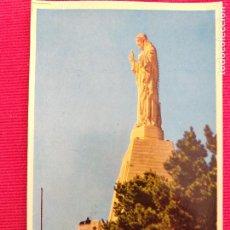 Postales: POSTAL DE SAN SEBASTIAN. # 1 MONTE URGULL. MONUMENTO AL SAGRADO CORAZÓN.. Lote 248571595