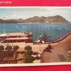 Postales: SAN SEBASTIAN (GUIPUZCOA) Nº 4 CLUB NAUTICO Y BAHIA. ED. ESPERON. NO CIRCULADA. 1960. Lote 248739170