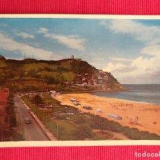 Postales: POSTAL DE SAN SEBASTIAN. 16. PLAYA DE ONDARRETA Y MONTE IGUELDO. Lote 249259480