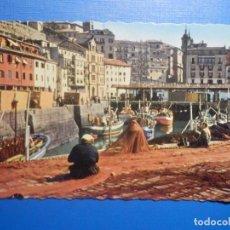 Postales: POSTAL - 108.- SAN SEBASTIAN - PUERTO PESQUERO - WILLY KOCH - AÑO 1957. Lote 251469255