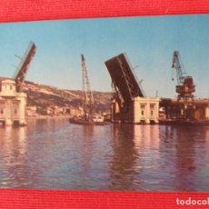 Postales: BILBAO, VIZCAYA, PUENTE DEL GENERALISIMO FRANCO. Lote 251528580