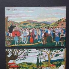 Cartoline: 9 POSTALES ARRUE. CASA LUX. Lote 253131640