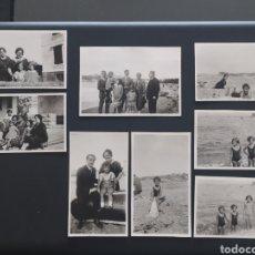 Postales: 8 FOTO POSTALES - SAN JUAN DE LUZ - SEPTIEMBRE 1927 - PAÍS VASCO FRANCÉS (6,5X11CM). Lote 253894185