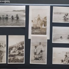 Postales: 8 FOTO POSTALES - SAN JUAN DE LUZ - SEPTIEMBRE 1929 - PAÍS VASCO FRANCÉS (6,5X11CM). Lote 253898200