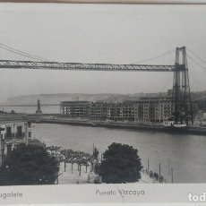Postales: PORTUGALETE PUENTE VIZCAYA. Lote 253997165