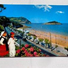 Cartes Postales: TARJETA POSTAL. SAN SEBASTIÁN. 084.- VISTA PARCIAL Y PLAYA. ED. FUERTES. Lote 254085355