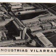 Postales: ANTIGUA POSTAL FOTOGRAFICA DE INDUSTRIAS VILARRASA, VIZCAYA. SIN CIRCULAR.. Lote 254613415