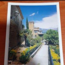 Postales: HOTEL RESTAURANTE EL CASTILLO Y BAJADA AL COLLADA. Lote 254629105