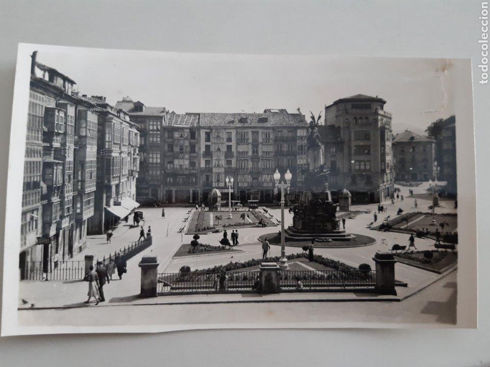 Postales: Lote de 18 Tarjetas Postales Vitoria Gasteiz Alava Ediciones Arribas años 50 - Foto 3 - 254745985