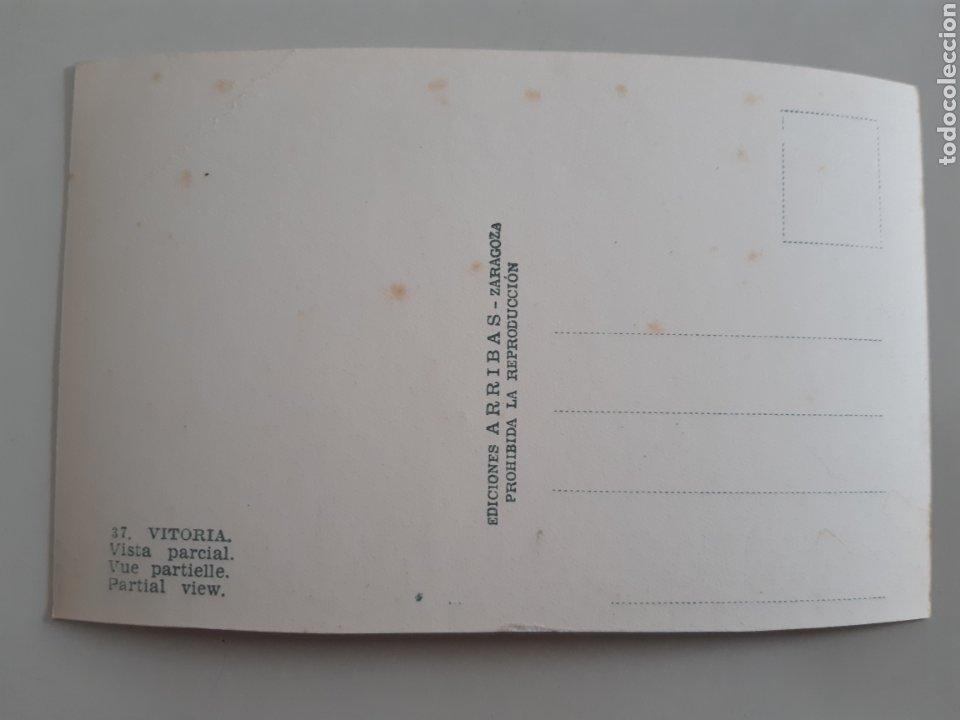 Postales: Lote de 18 Tarjetas Postales Vitoria Gasteiz Alava Ediciones Arribas años 50 - Foto 19 - 254745985