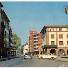Postales: EM0539 AMOREBIETA CALLE SAN MIGUEL 1966 OYARZABAL Nº1 SEAT 1500. Lote 255335760