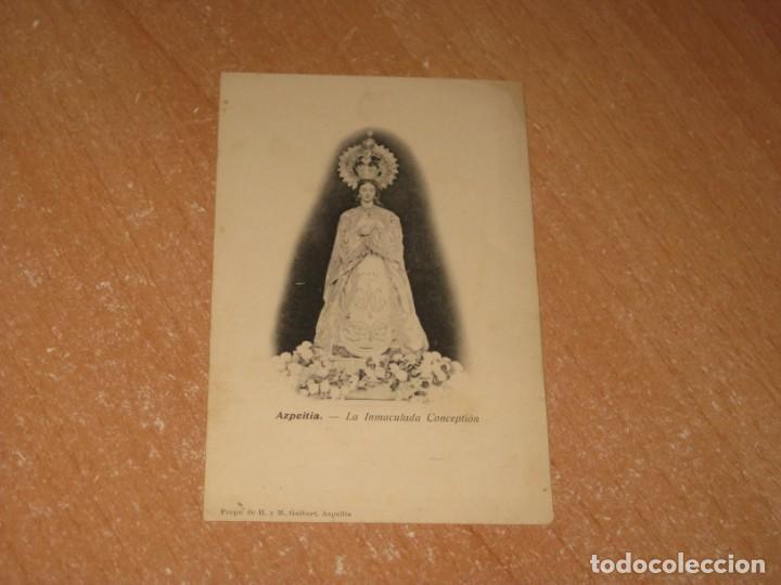 POSTAL DE AZPEITIA (Postales - España - Pais Vasco Antigua (hasta 1939))