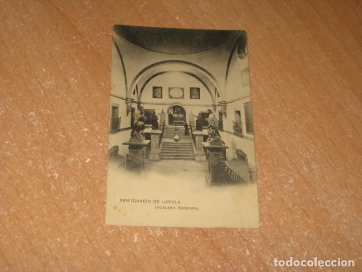 POSTAL DE SAN IGNACIO DE LOYOLA (Postales - España - Pais Vasco Antigua (hasta 1939))