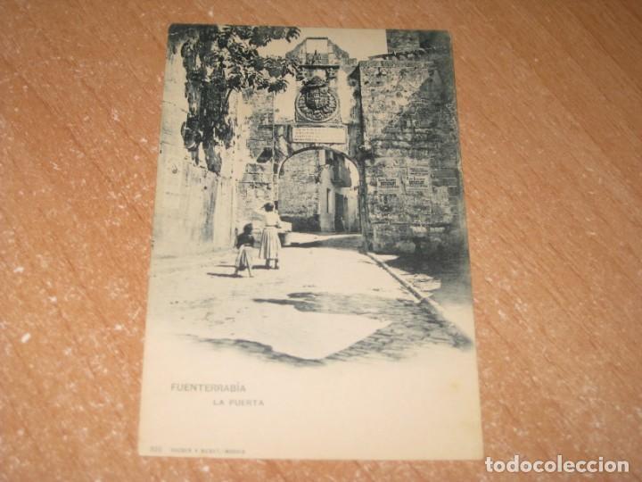 POSTAL DE FUENTERRABIA (Postales - España - Pais Vasco Antigua (hasta 1939))