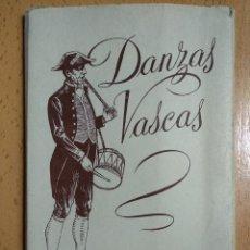 Postales: 10 POSTALES DANZAS VASCAS FOURNIER VITORIA SERIE I. ACORDEON DANTZARIS. Lote 255991295