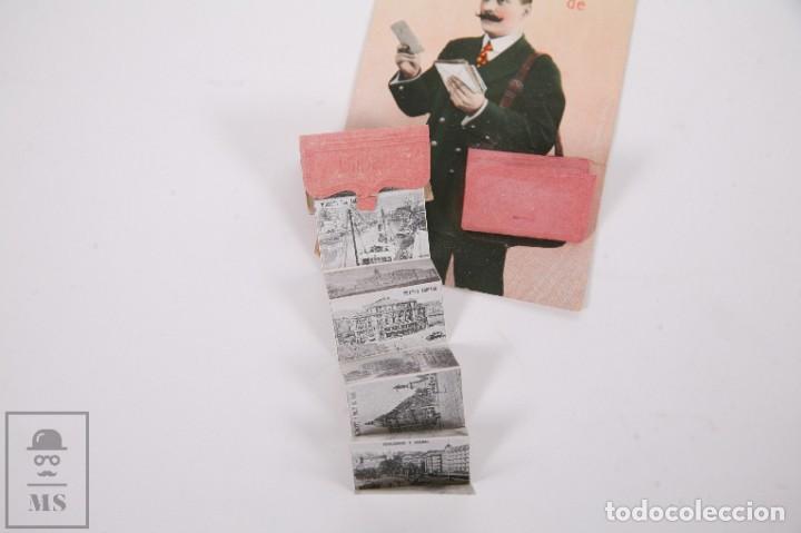 Postales: Antigua Postal Recuerdos de Bilbao - Sin Circular - Cartero 10 Vistas Desplegables - Foto 3 - 255993030