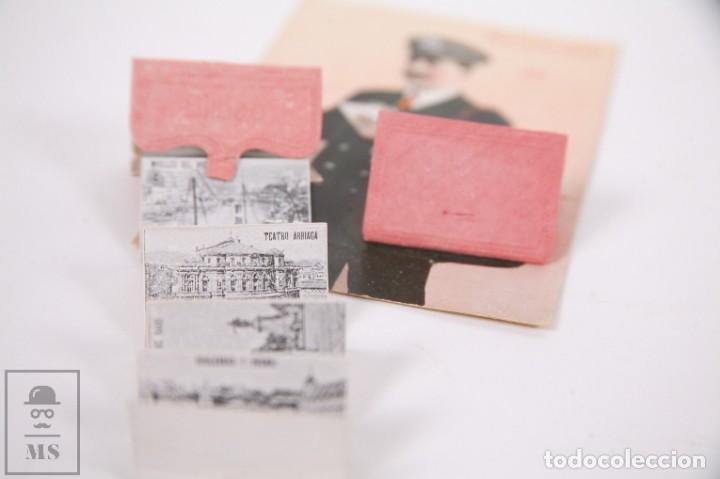 Postales: Antigua Postal Recuerdos de Bilbao - Sin Circular - Cartero 10 Vistas Desplegables - Foto 4 - 255993030