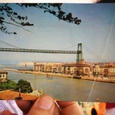 Postales: POSTAL PORTUGALETE VIZCAYA PUENTE DE VIZCAYA N 305 VISTABELLA 1964 ESCRITA,SELLADA Y CON ARRUGA. Lote 256152480
