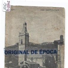 Postais: (PS-65145)POSTAL DE VILLARO-SAN BARTOLOME. Lote 260083000