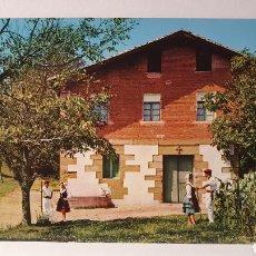 Postales: N°3 FOLKLORE VASCO/ CIRCULADA/(D.252). Lote 261545575