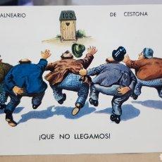 Postales: POSTAL ANTIGUA - CESTONA - BALNEARIO DE CESTONA N°2.003.. Lote 261857185