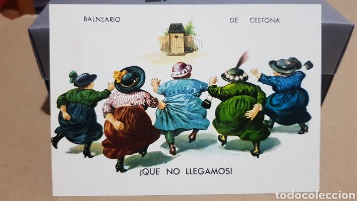 POSTAL ANTIGUA - CESTONA - BALNEARIO DE CESTONA N°2.004. (Postales - España - País Vasco Moderna (desde 1940))