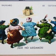 Postales: POSTAL ANTIGUA - CESTONA - BALNEARIO DE CESTONA N°2.004.. Lote 261857320