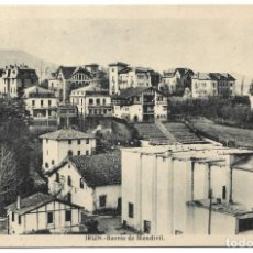 Postales: IRÚN - BARRIO DE MENDIVIL - L. ROISIN - CIRCULADA 1943. Lote 261932240