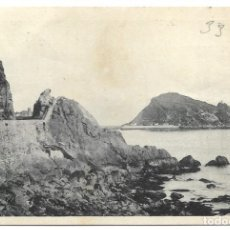 Postales: ZARAUZ. CARRETERA A GUETARIA - FOTOTIPIA HAUSER Y MENET - CIRCULADA AÑO 1943. Lote 261939115