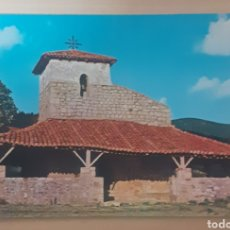 Postales: INGLESIA SAN PELAYO BAQUIO (VIZCAYA). Lote 262280885