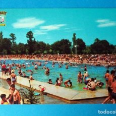 Cartes Postales: POSTAL DE VITORIA: PISCINA OLIMPICA. GAMARRA. Lote 262310020