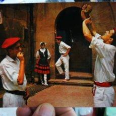 Postales: POSTAL BILBAO PÓRTICO DE LA BASÍLICA DE BEGOÑA N 24 DOMINGUEZ ESQUINAS PELÍN TOCADAS. Lote 263066800