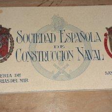 Postales: SOCIEDAD ESPAÑOLA DE CONSTRUCCION NAVAL. SAN SEBASTIÁN 1930. Lote 263138935