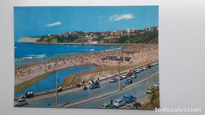 POSTAL GUECHO (VIZCAYA), PLAYA DE EREAGA, BEASCOA SAN CAYETANO Nº 7219 SEAT 600 2 CV (Postales - España - País Vasco Moderna (desde 1940))