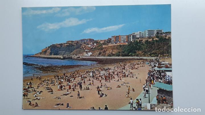 POSTAL GUECHO (VIZCAYA), PLAYA DE EREAGA, BEASCOA SAN CAYETANO Nº 7261 (Postales - España - País Vasco Moderna (desde 1940))