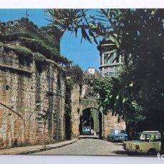 Postales: POSTAL FUENTERRABÍA (GUIPÚZCOA), ENTRADA POR LAS MURALLAS, MANIPEL NAYLLA. Lote 263622855
