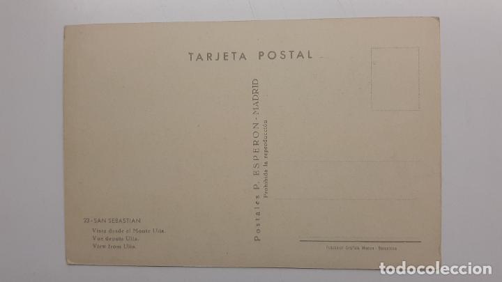 Postales: Postal San Sebastián (Guipúzcoa), Vista desde Monte Ulía, ESPERON nº 23 - Foto 2 - 263622865